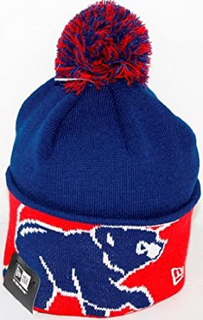 d724e906605 Chicago Cubs New Era MLB Major Cuff Knit Hat  Amazon.co.uk  Sports    Outdoors