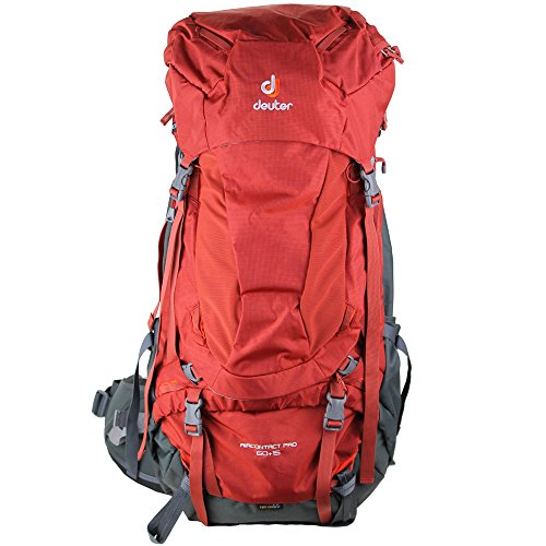 Deuter Aircontact Pro 60+15 Hiking Pack (Lava/Anthracite)