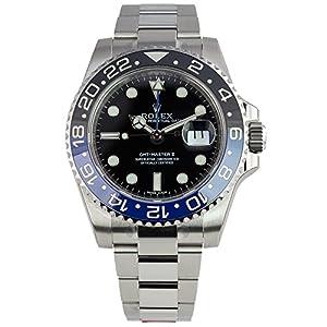 51ETxw6p%2BHL. SS300  - Rolex GMT-Master II 2 Steel Black & Blue Ceramic Bezel 116710 BLNR