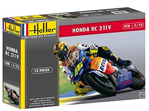 Heller - 80910 - Construction Et Maquettes - Honda Rc211 V - Echelle 1/12ème
