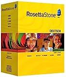 Rosetta Stone V3: German Level 1,2,3,4,5 Set with Audio Companion---old Version