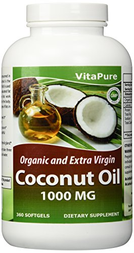 Vita Pure Coconut Supplement 360 Softgels product image