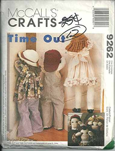 McCall's 9262 Crafts Sewing Pattern Time Out ()