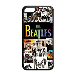 meilz aiaiRock Band The Beatles Durable TPU Protective Snap On Case For iphone 5c (Black, White)meilz aiai