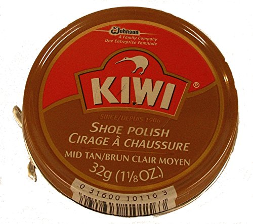 (Kiwi Shoe Polish- 32g (Mid Tan))