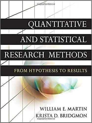 Amazon com: Quantitative and Statistical Research Methods