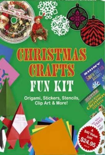 Christmas Crafts Fun Kit (Dover Fun Kits) (Kits Fun Dover)