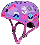 Micro Safety Helmet: Floral Dot (48-53cm)