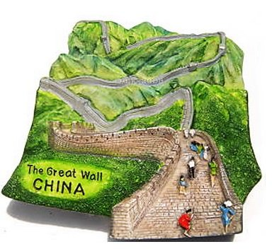 7 Wonders of The World The Great Wall China 3D Resin TOY Fridge Magnet Free Ship (Wonder Thai)