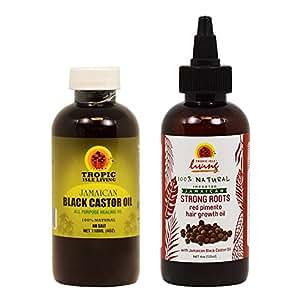 Amazon.com : Jamaican Black Castor Oil 4oz + Strong Roots