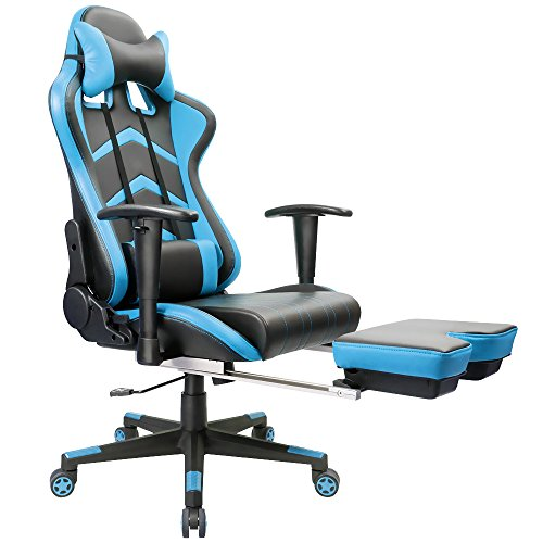 Remarkable Furmax Gaming Chair High Back Racing Chair Ergonomic Swivel Computer Chair Executive Pu Leather Desk Chair With Footrest Bucket Seat And Lumbar Ncnpc Chair Design For Home Ncnpcorg