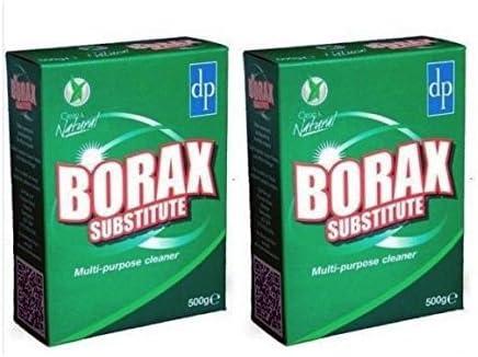 2 x BORAX SUSTITUTO un limpiador multiusos eficaz y biodegradable ...