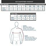 Men's Fully Lined V-Neck Golf and Wind Shirt