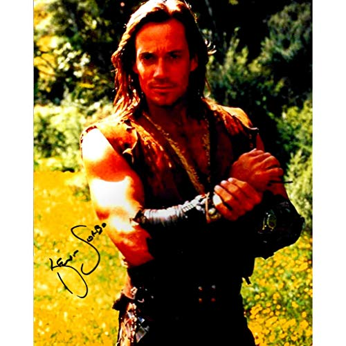 Sorbo Kevin Signed - Kevin Sorbo Hercules Signed 8x10 Photo