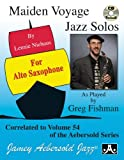 img - for Play-A-Long Series, Vol. 54: Maiden Voyage - Alto Sax Solos (Book + CD Set) book / textbook / text book