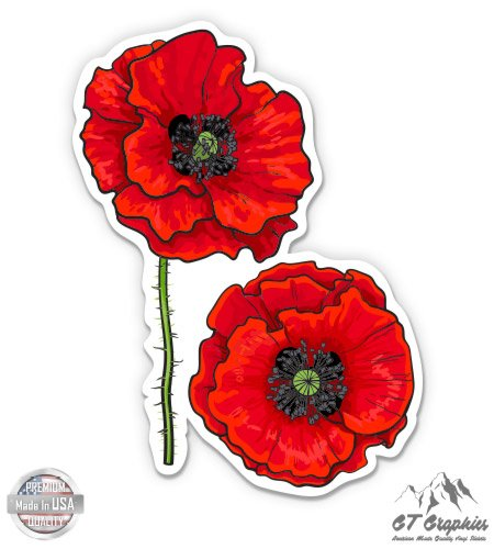 (Poppies Beautiful Floral - 5