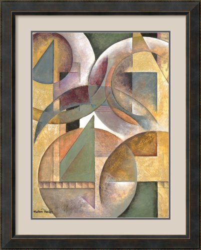 Spheres of Thought I by Marlene Healey Framed