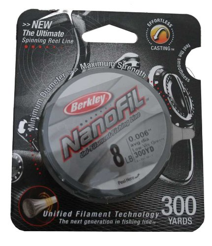 Berkley Nanofil Uni-Filament .006-Inch Diameter Fishing Line
