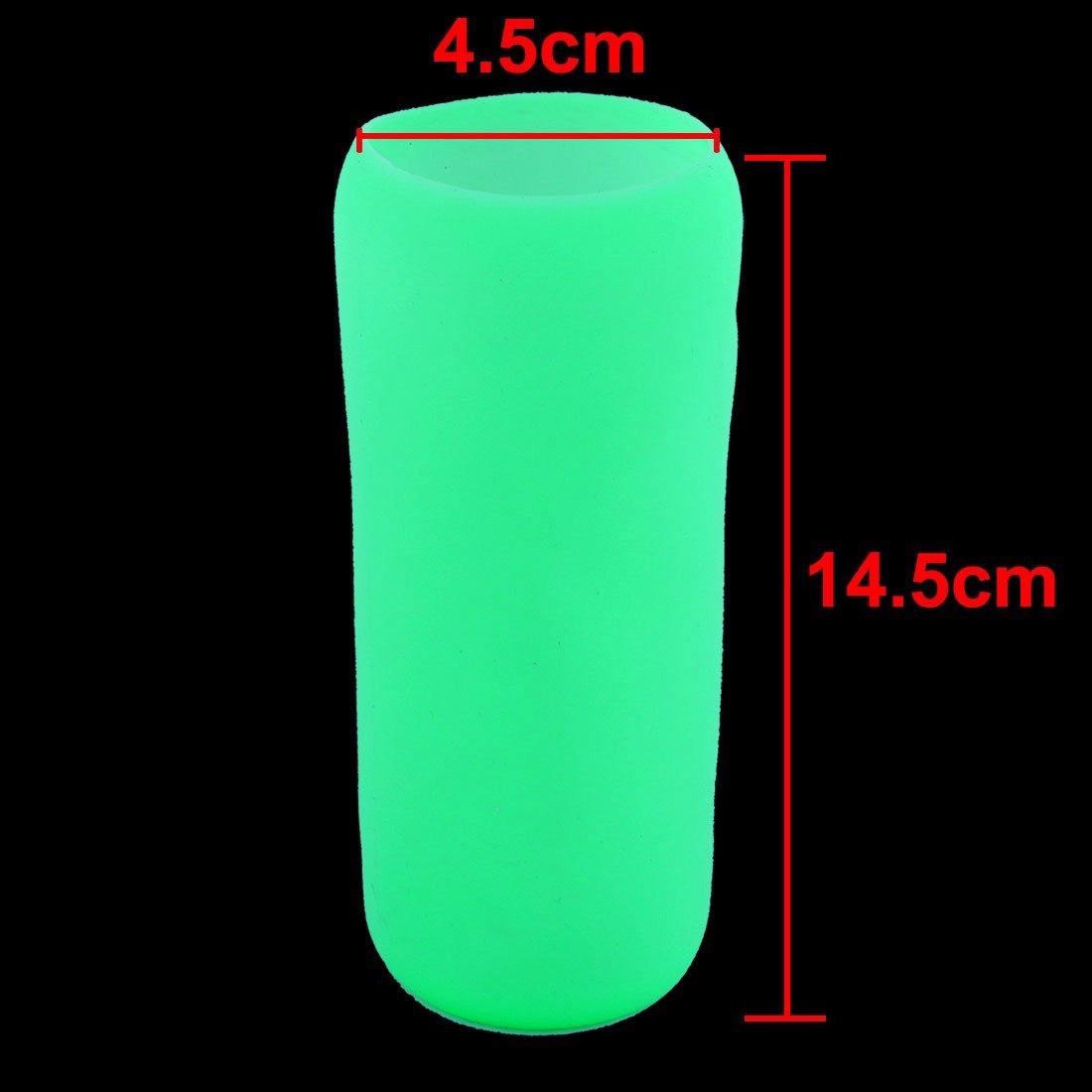 Amazon.com: Vidrio resistente eDealMax silicona Home Cafe calor taza de la botella té café manga del protector de la luz verde: Kitchen & Dining