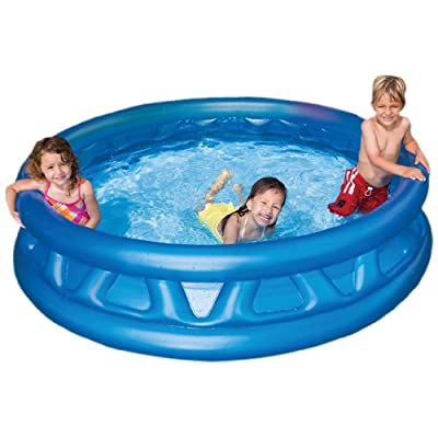 Intex 58431EP 74x18-Inch Inflated Soft Side Pool: Toys & Games