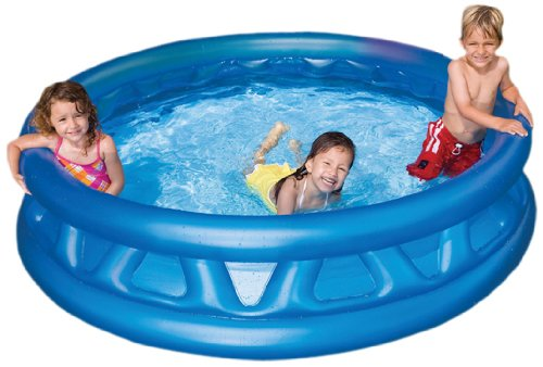 Intex 58431EP 74x18-Inch Inflated Soft Side Pool by Intex