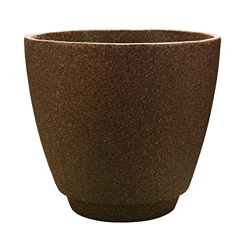 Metro Planter, 20 Inches, Granite Brown (Large Planters For Outdoors)