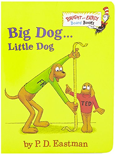 Big Dog Little Dog (Bright & Early Board Books(TM))