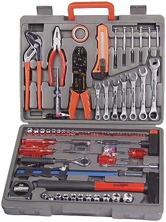 Mannesmann - M29555 - Maletín de herramientas de 555 piezas: Amazon.es: Bricolaje y herramientas