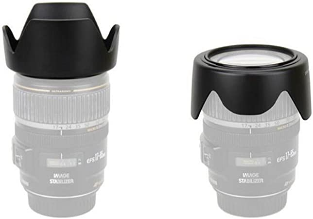 MAYOFO ET-63 Lens Hood Shade for Canon EF-S 55-250mm f//4-5.6 is STM Lens