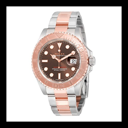Rolex Yacht-Master Chocolate Dial Steel and 18K Everose Gold Oyster Mens Watch 116621CHSO (Wrist 18k Rolex Watch)