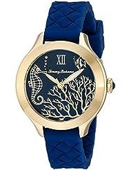 Tommy Bahama  Womens 10018341 Waikiki Reef Analog Display Japanese Quartz Blue Watch