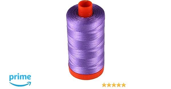 Aurifil Mako Cotton Thread Solid 50wt 1422yds Aubergine