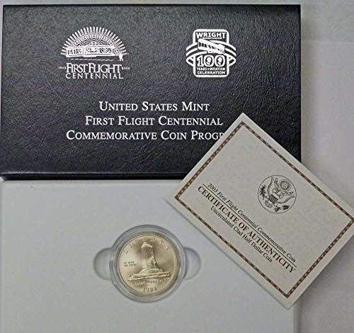 (2003 P First Flight Clad Half Dollar First Flight Uncirculat US Mint)