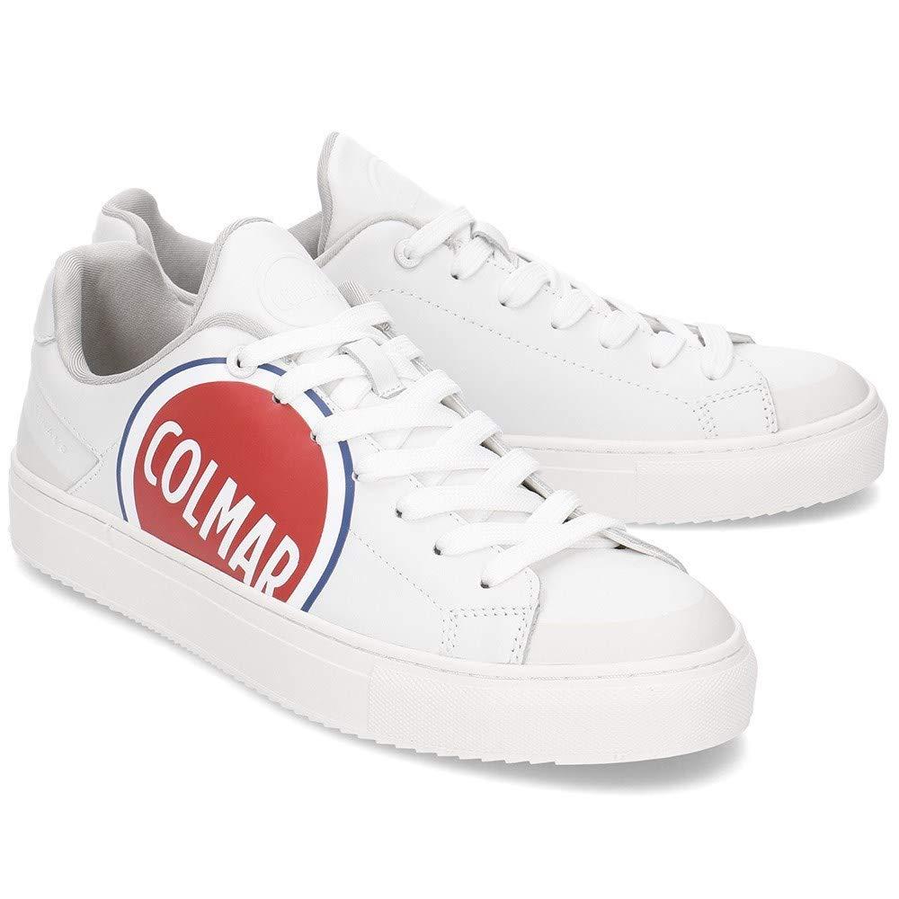 COLMAR White Bradbury Logo 208: : Schuhe & Handtaschen