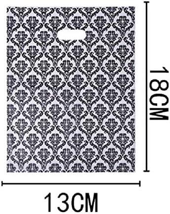 Dielay - Bolsas de regalo (50 unidades, 18 x 13 cm), diseño barroco