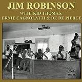 Jim Robinson with Kid Thomas, Ernie Cagnolattie & De De Pierce