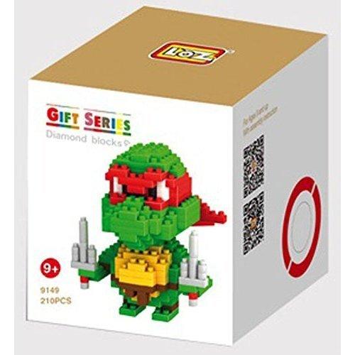 Amazon.com: Loz Nano Ninja Turtles Diamond Building Block ...