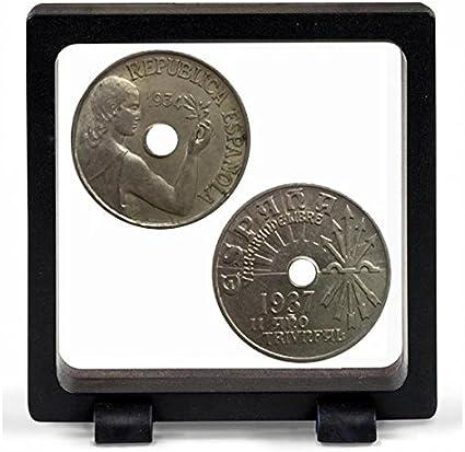 IMPACTO COLECCIONABLES Monedas Antiguas - La Guerra Civil Española, 25 Céntimos 1934 y 1937