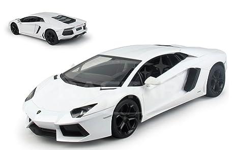 e3ce79dff410 Rastar RC Remote Control Radio Control Car Model for Lamborghini Aventador  LP700 White