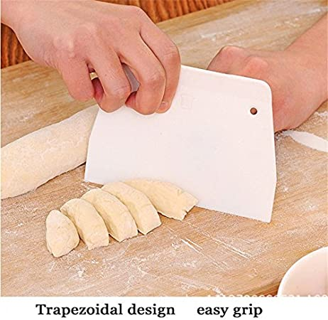 Stainless Pizza Dough Cutter Pastry Slicer Cake Bread Scraper Blade Kitchen Tool
