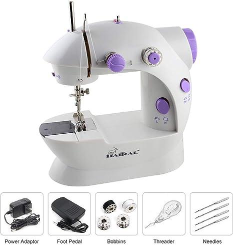 HAITRAL máquina de coser portátil: Amazon.es: Juguetes y juegos