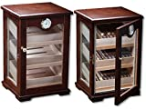 "The Illuminati - Cigar Display Humidor - Spanish Cedar Interior - Holds 120 Cigars (13"" x 11.5"" x 18.3""))"