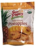 Sun Tropics Organics Dried & Unsulfured Sweet Golden Pineapples 18 oz.