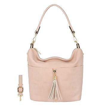 Damen Handtasche Schultertasche Tote Handtasche Crossbody Messenger Hobo Bag Ber