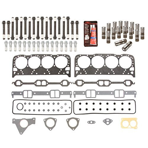 Evergreen HSHBLF8-10500 Lifter Replacement Kit fits 93-97 Chevrolet Pontiac Buick Cadillac 5.7 OHV LT1 Head Gasket Set, Head Bolts, Lifters (Heads Cylinder Lt1)