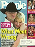 Renee Zellweger and Kenny Chesney, Desperate Housewives, Tori Spelling, Britney Spears and Kevin Federline - October 3, 2005 People Magazine