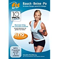 Fit for Fun - 10 Minute Solution: Bauch, Beine, Po für Anfänger