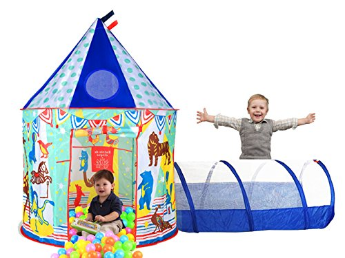 Aeroway Circus Image Play Tunnel product image