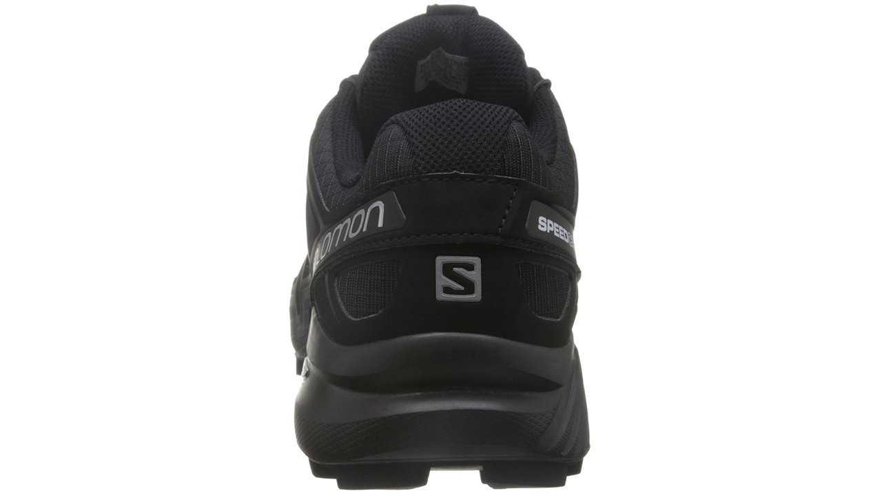 Salomon Men's Speedcross 4 Trail Runner, Black A1U8, 7 M US by Salomon (Image #7)