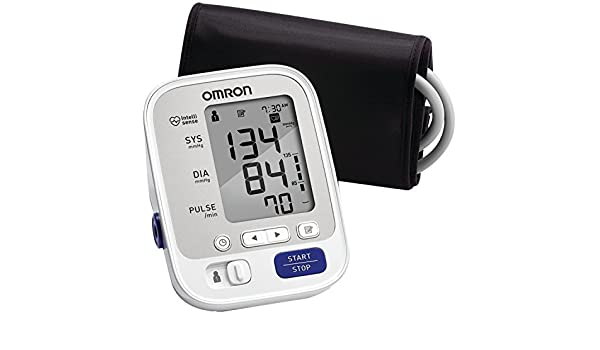 Omron 5 Series Upper Arm Blood Pressure Monitor with Cuff that fits Standard and Large Arms (BP742N): Amazon.es: Amazon.es